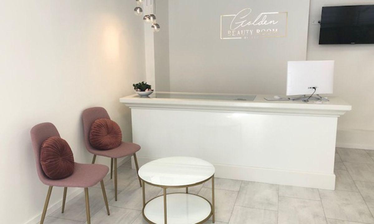 golden beauty room