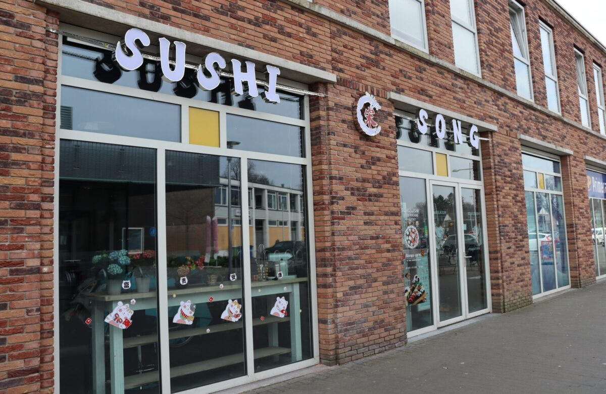 Song Sushi ordenplein