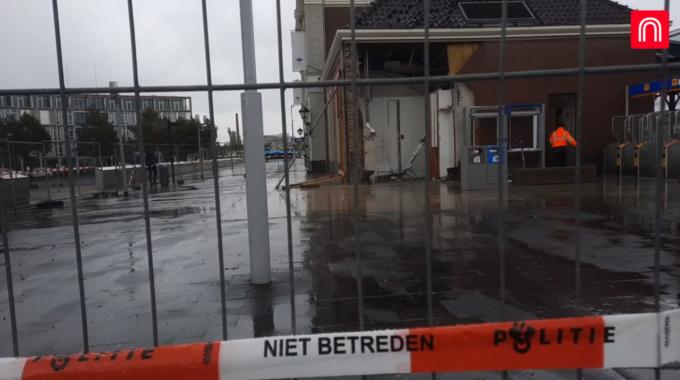 stationsgebouw apeldoorn plofkraak