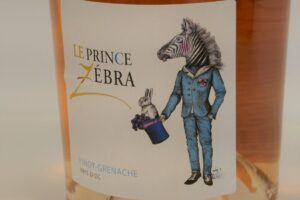 Le prince zebra Slijterij René