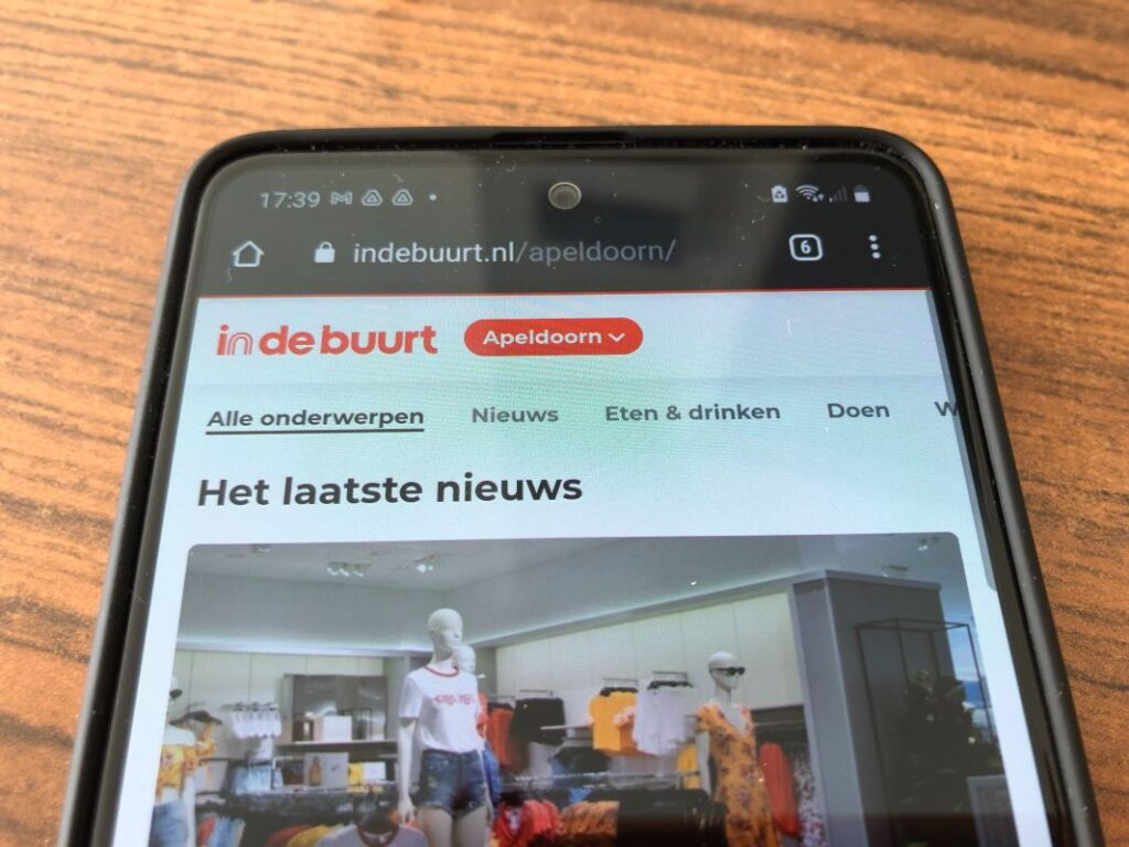 android indebuurt apeldoorn als app op je telefoon (1)