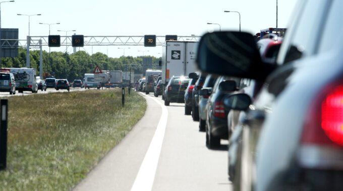 wegwerkzaamheden A50 Zwolle