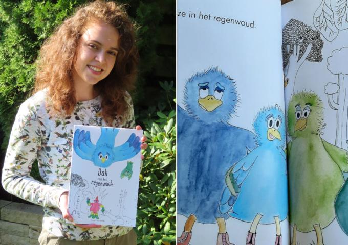 Laura prentenboek Dali redt het regenwoud