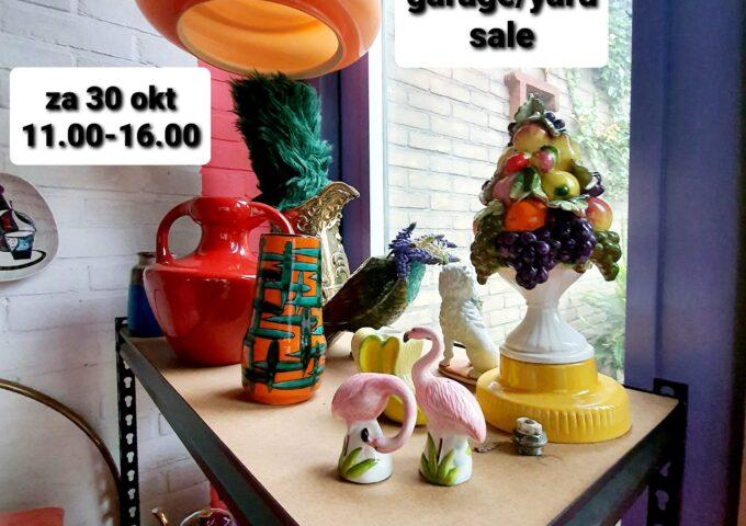 vintage garage yard sale yordy dekker