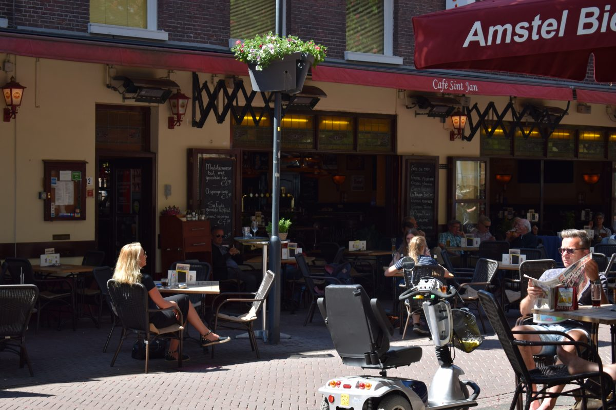 overdekte terrassen cafe sint jan arnhem