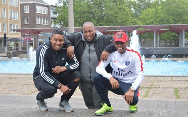 De twee neven vormen samen met hun manager ook wel het 'gouden trio'. (Foto: Chantal Bolleman)