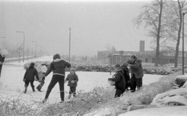 sneeuw winter 63 in arnhem