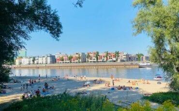 Strandje bij de Rijn. Foto: indebuurt Arnhem