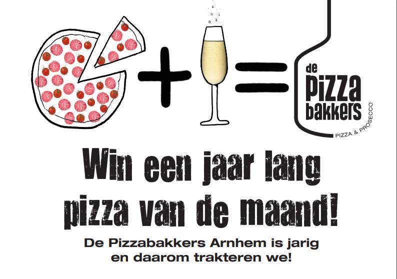 de pizzabakkers win pizza van de maan