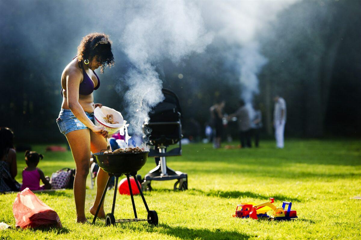 Foto ter illustratie van een barbecue in een park. Foto: ANP
