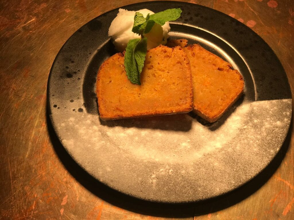 Vegan Carrot Cake van Popo Catepetl