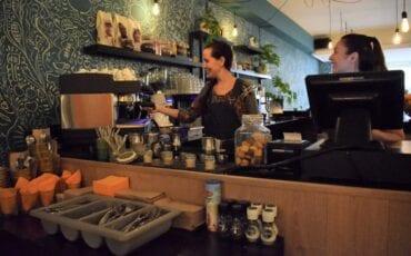 Heerlijke koffie bij Foodvia