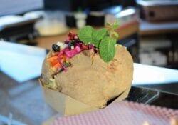 Kumpir, Arabische gepofte aardappel