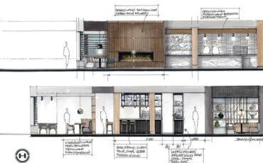 impressie nieuwe Van der Valk restaurant Arnhem