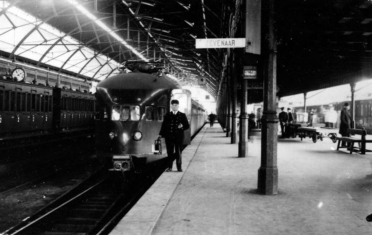 De trein naar Zevenaar Foto Gelders Archief nummer 14661