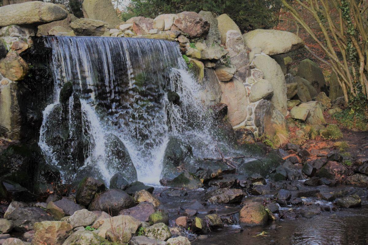 Waterval in Sonsbeek