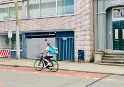 op de fiets naar je werk in arnhem
