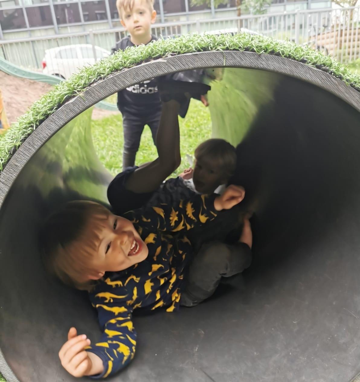 Veel speelvrijheid bij kinderopvang Montessorihuis in Arnhem