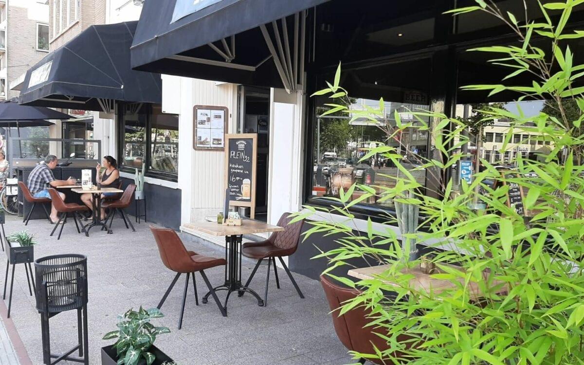 Restaurant Plein 32 in Arnhem. Foto: indebuurt Arnhem