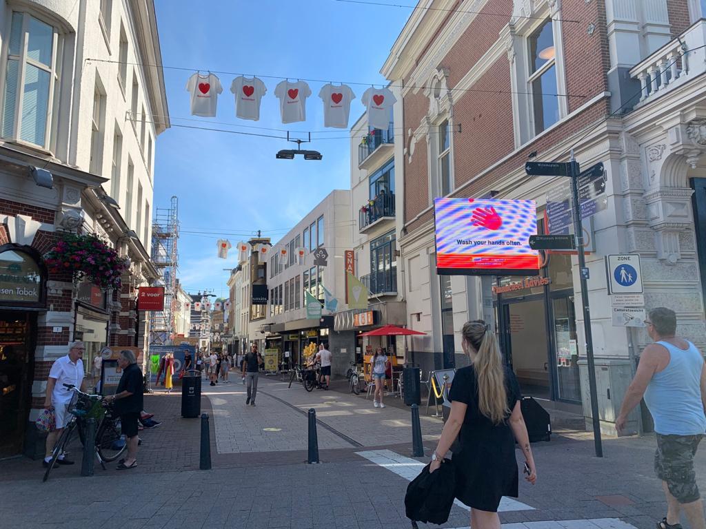 De binnenstad in coronatijd. Foto: indebuurt Arnhem