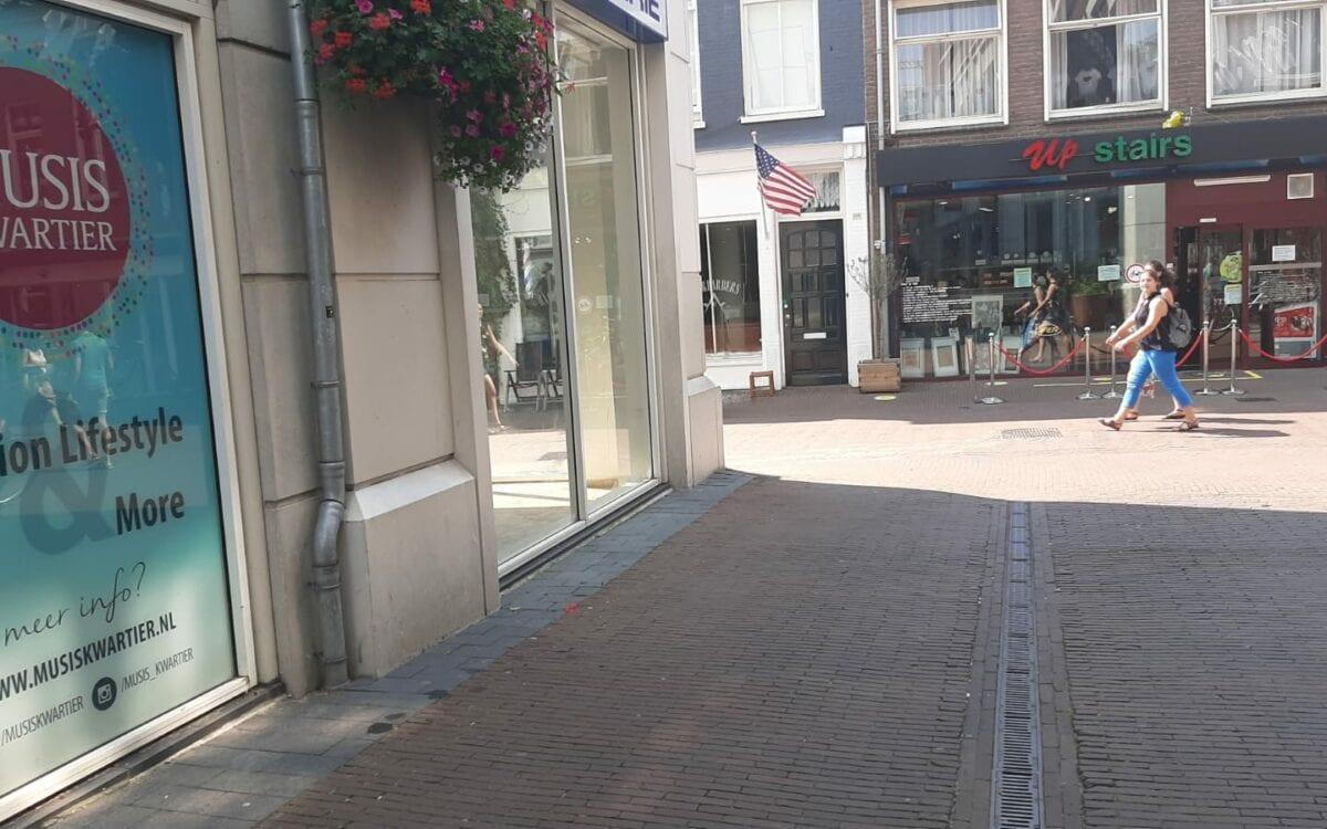 Die Grenze is nieuw in Arnhem. Foto: indebuurt Arnhem