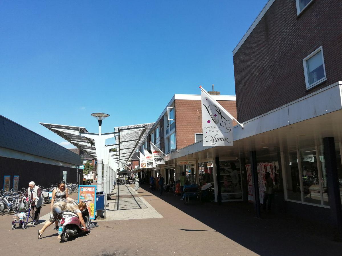 Winkelcentrum Drieslag in Arnhem Zuid