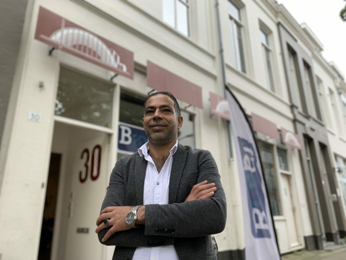 Mohammed Obeido is een man met een missie. Foto: indebuurt Arnhem