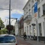 Shop&Go parkeerplaatsen in de Arnhemse binnenstad. Foto: indebuurt Arnhem