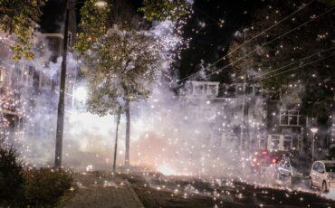 Vuurwerkoverlast in de wijk Geitenkamp. Foto: ANP
