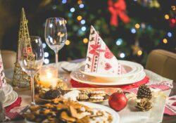 thuis uit eten met kerst kerstdiner thuisbezorgd