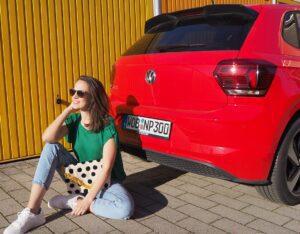 rijden in de nieuwe Volkswagen polo
