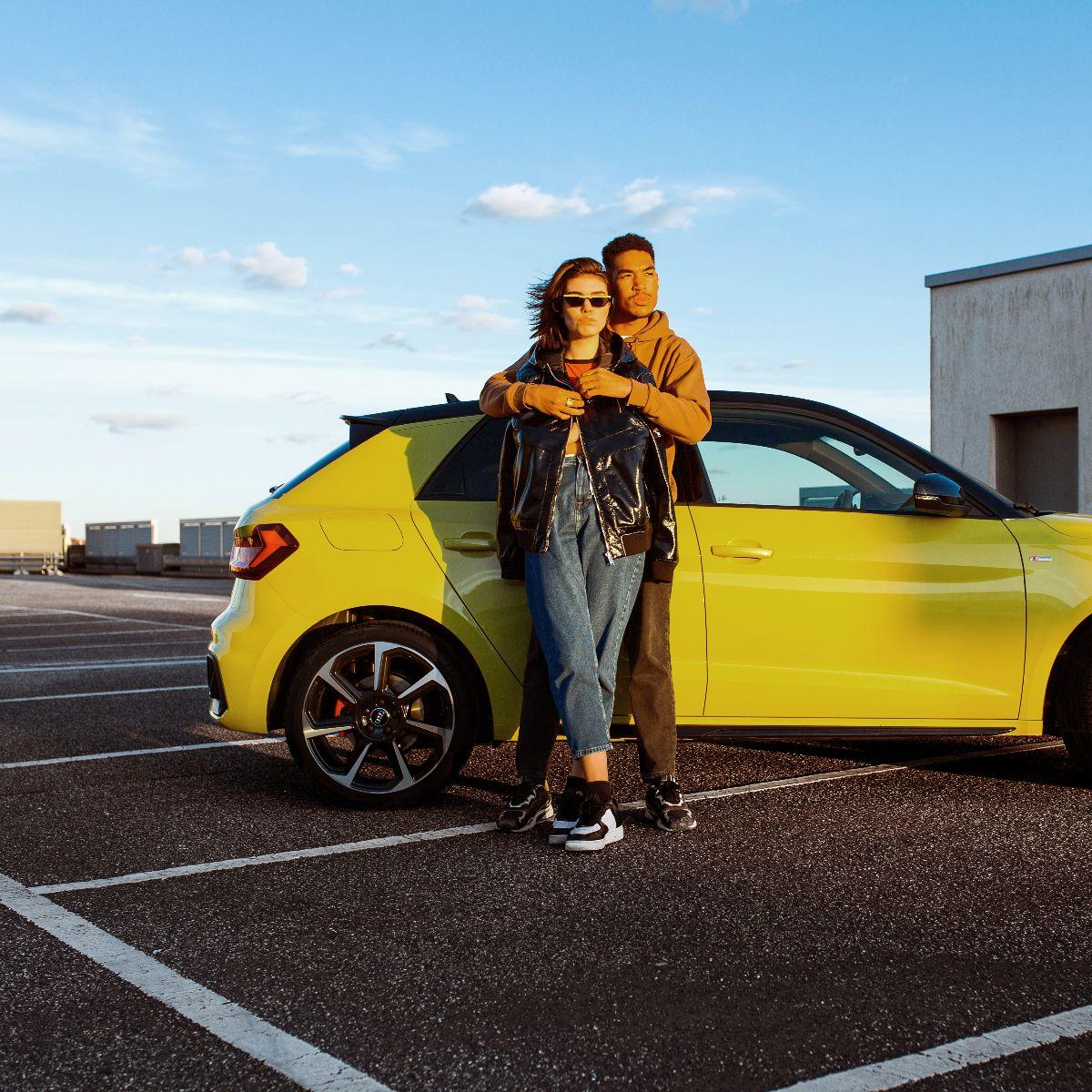 Genieten van de Audi A1 Sportback