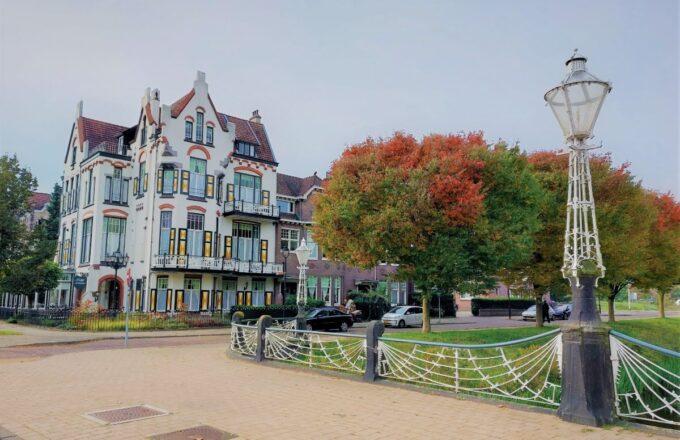 Herfst in Arnhem hotel Molendal