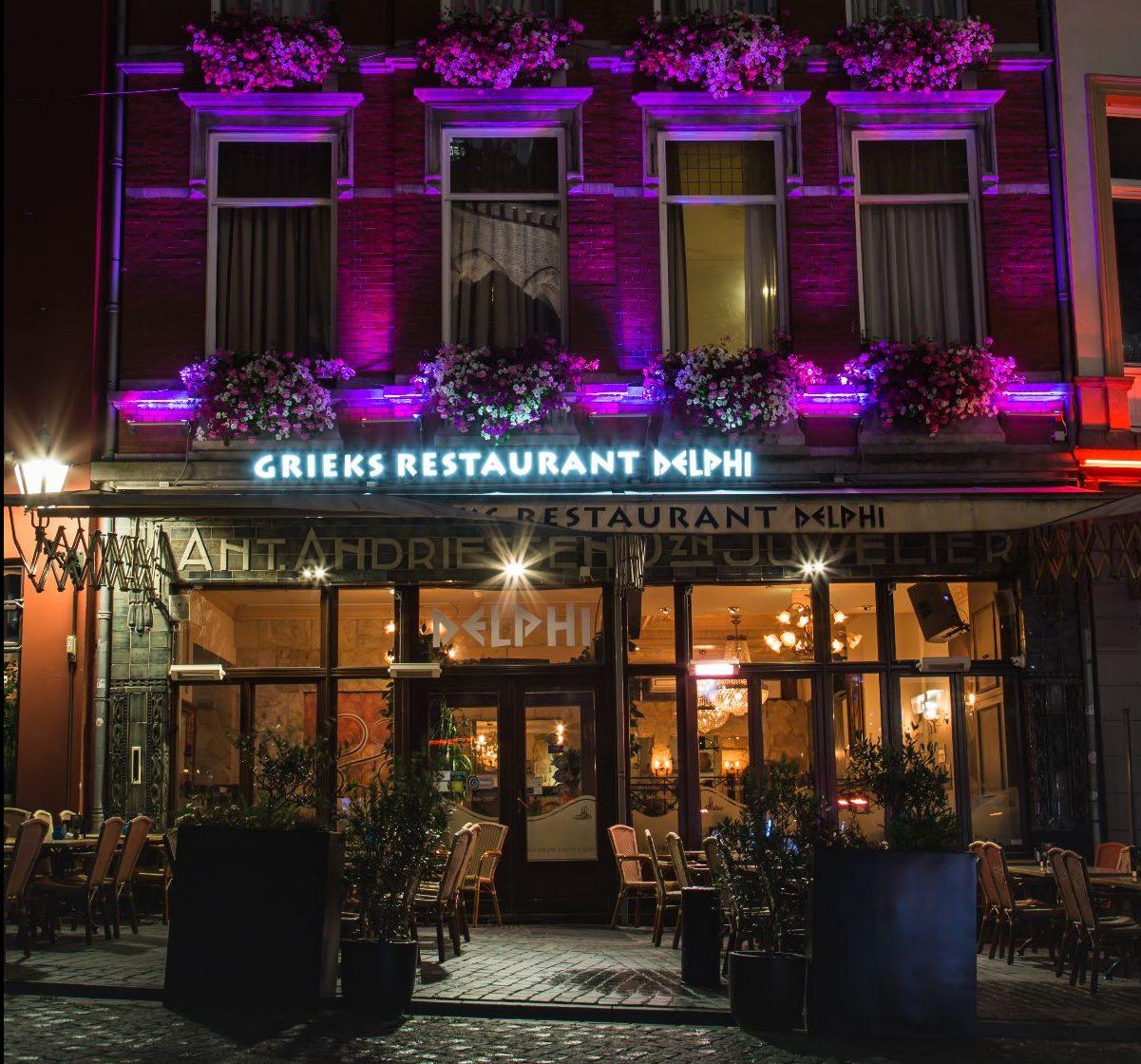 grieks-restaurant-delphi-bergen-op-zoom-bij-nacht