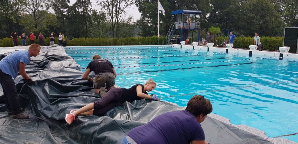 zwembad de melanen