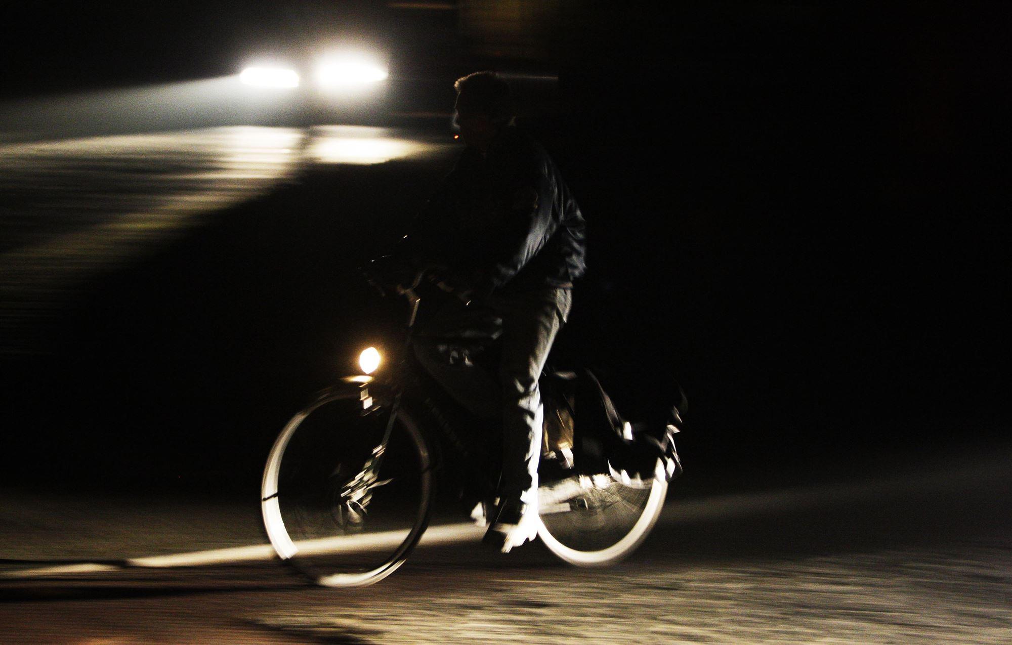 enge plekken fietsen donker fietsen bergen op zoom