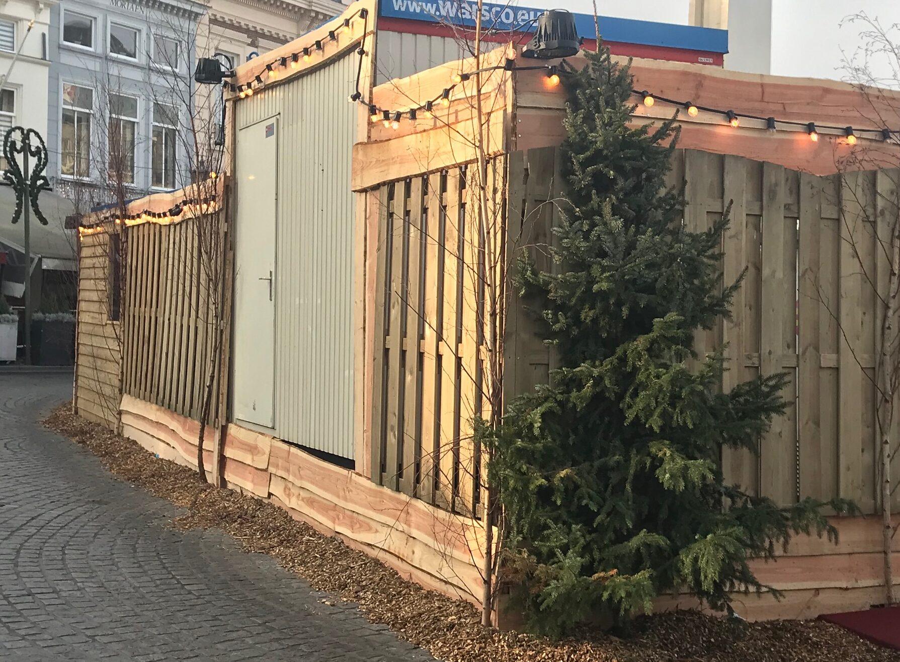 kerstboom kerst grote markt denneboom