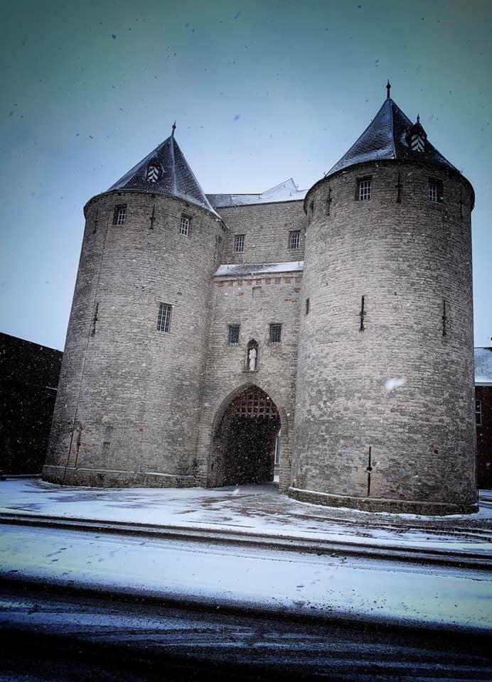 sneeuw gevangenpoort