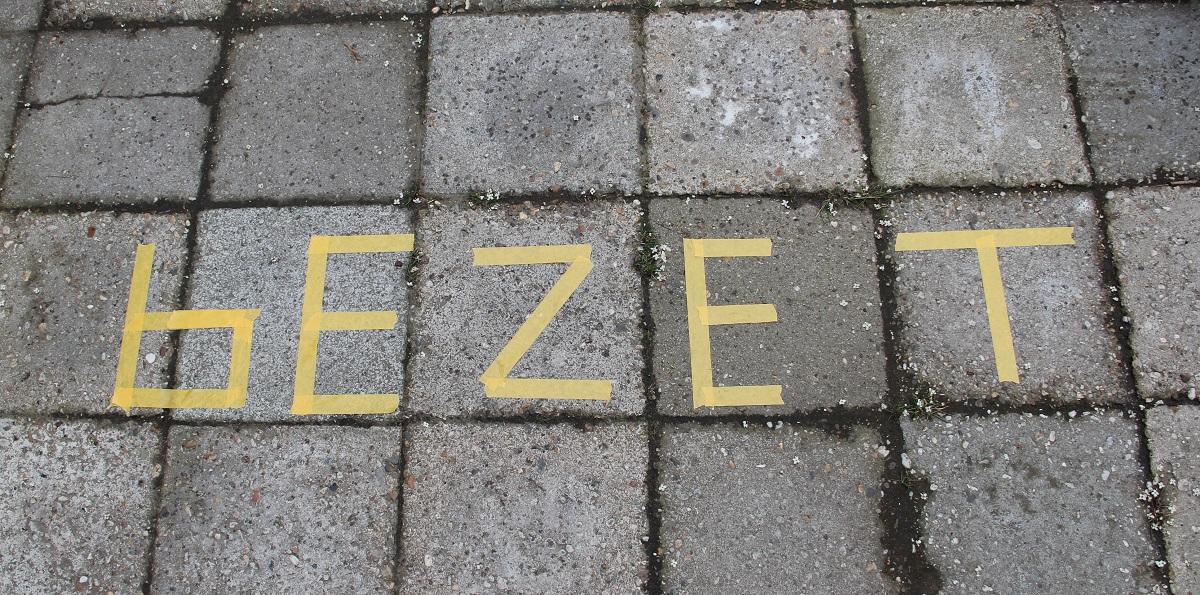 Bezet - Koningsdag - vrijmarkt
