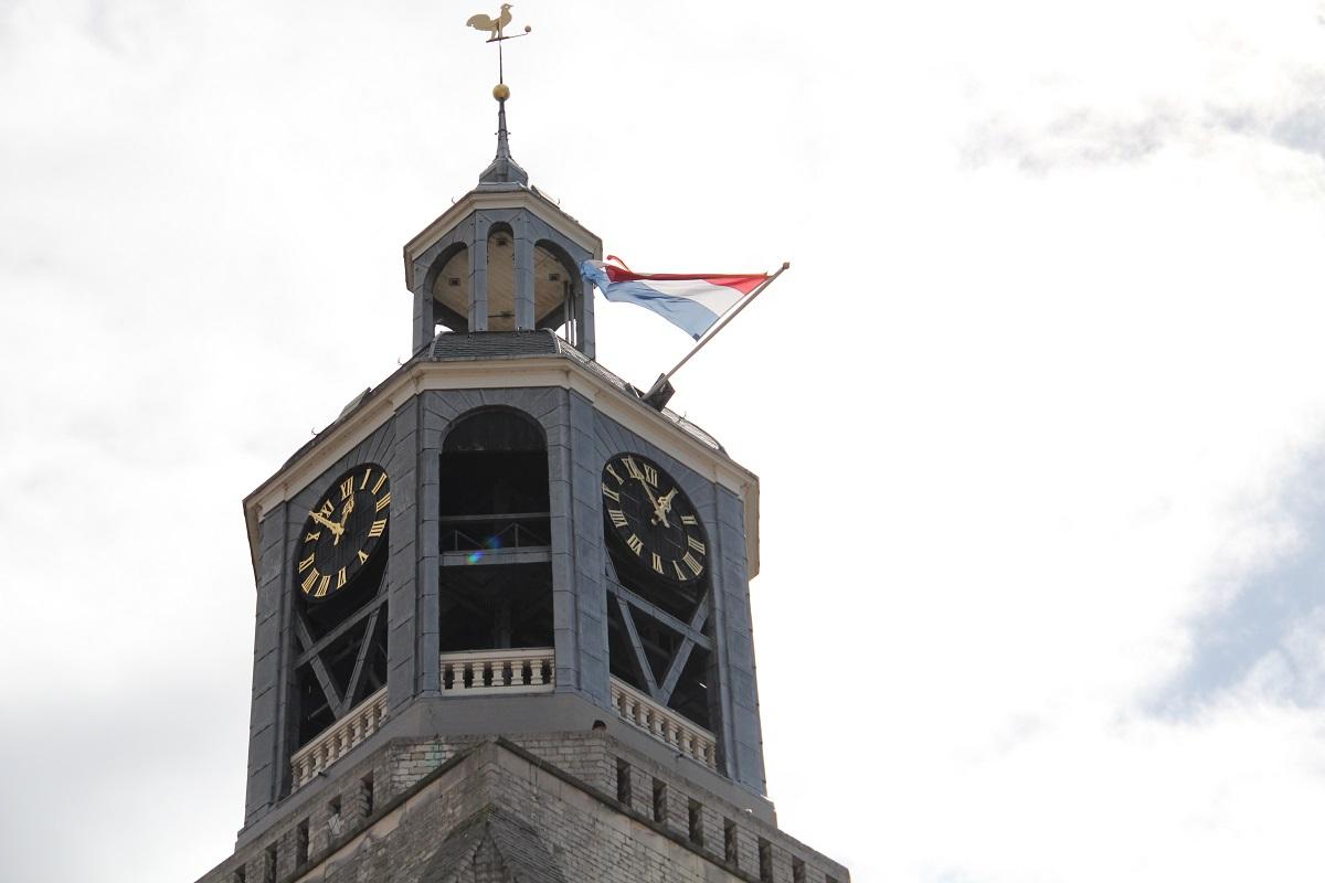 vlag uithangen peperbus