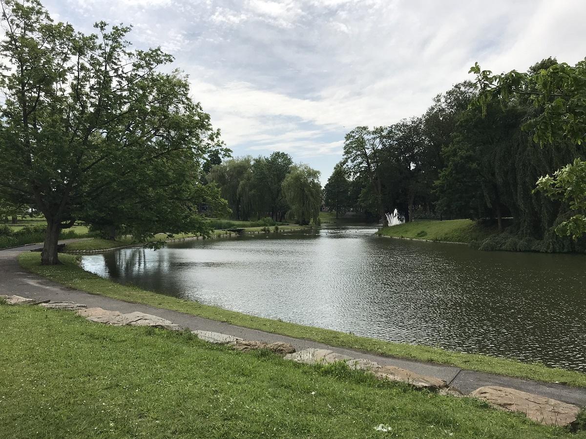 geschiedenis Anton van Duinkerkenpark anton van duinkerkenpark - water - meer