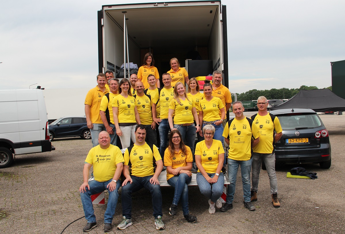 roparunteam goede doel roparun Bergen op Zoom Stichting Runningteam Altijd ééntje te veel roparun