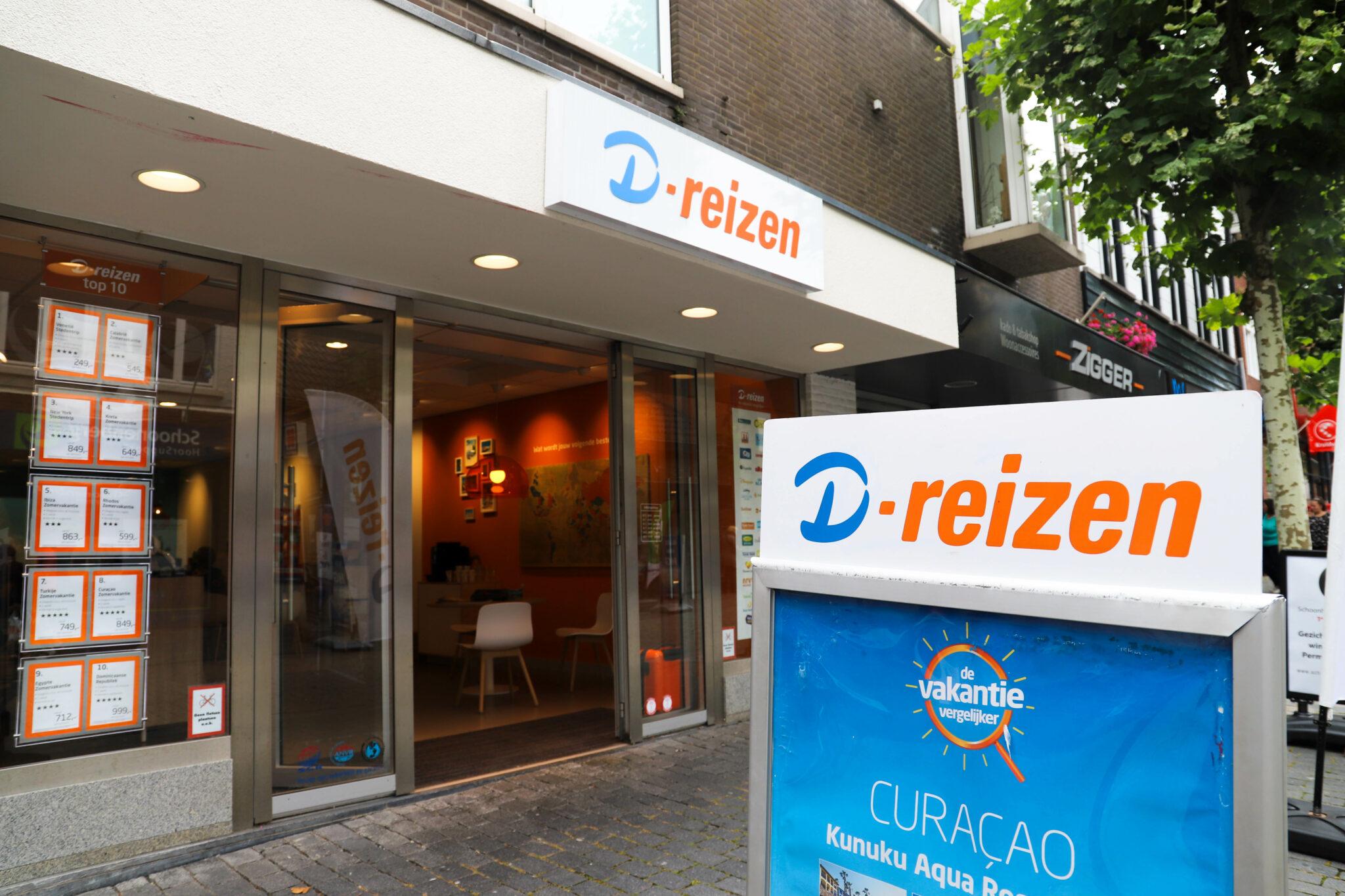 D-reizen D-reizen in Bergen op Zoom gaat dicht vanwege faillissement