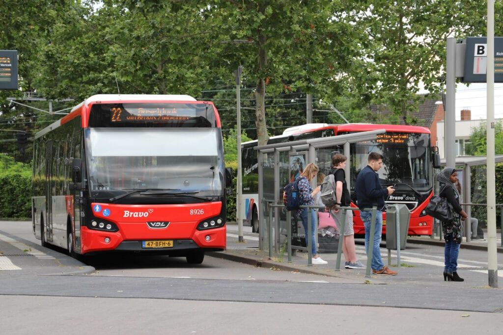 dienstregeling bussen Bergen op Zoom