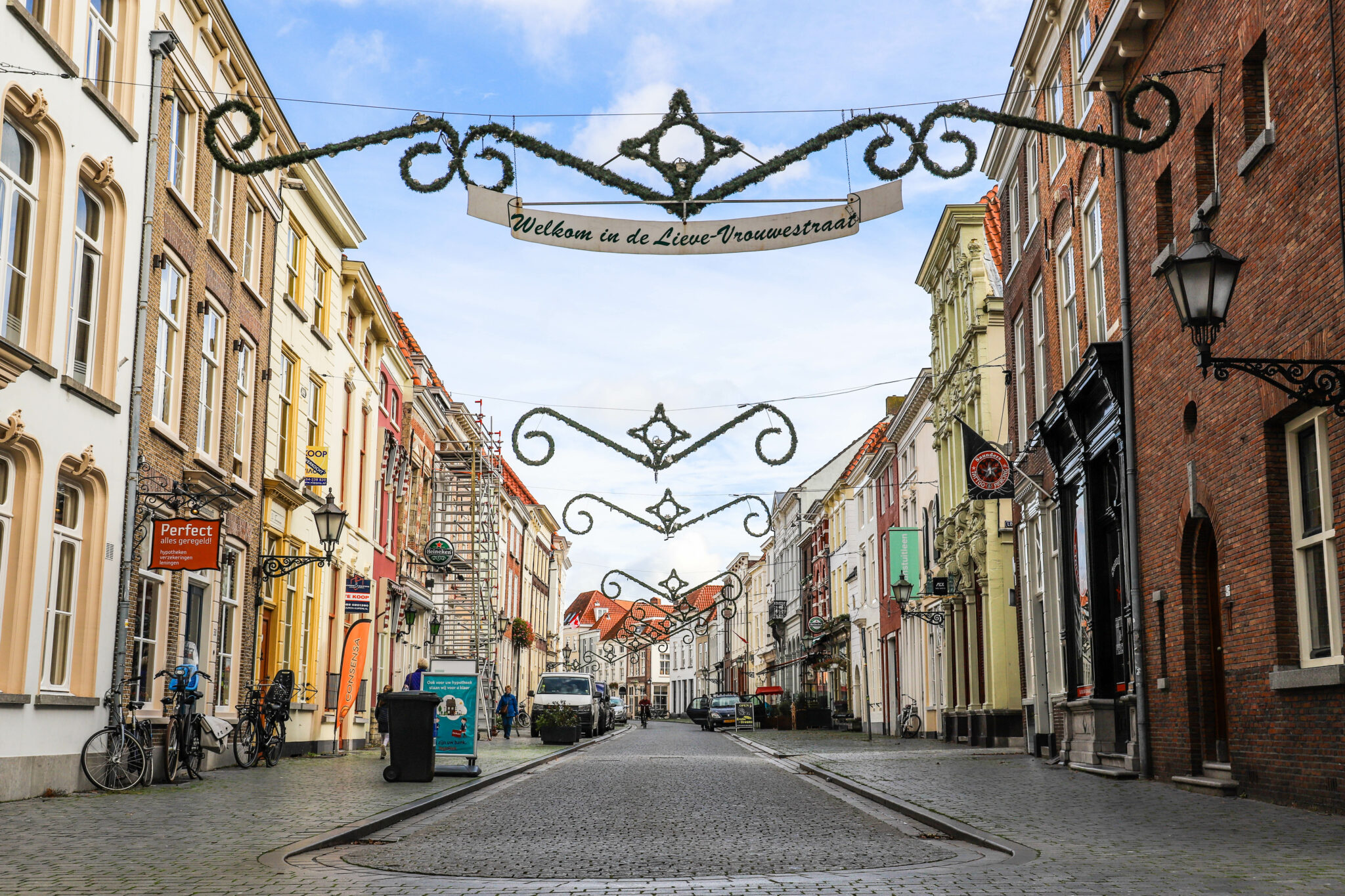 Lievevrouwestraat kerstversiering steenbergsestraat maria hoek markiezenhof casa de castro Lievevrouwestraat kerstversiering