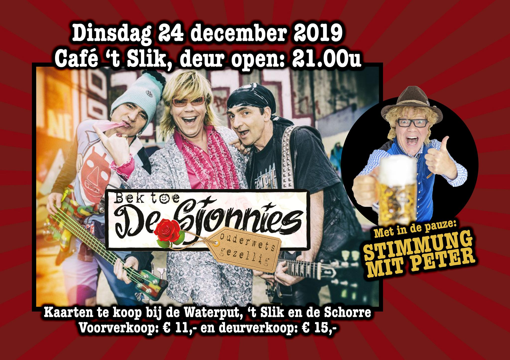 de sjonnies cafe 't slik