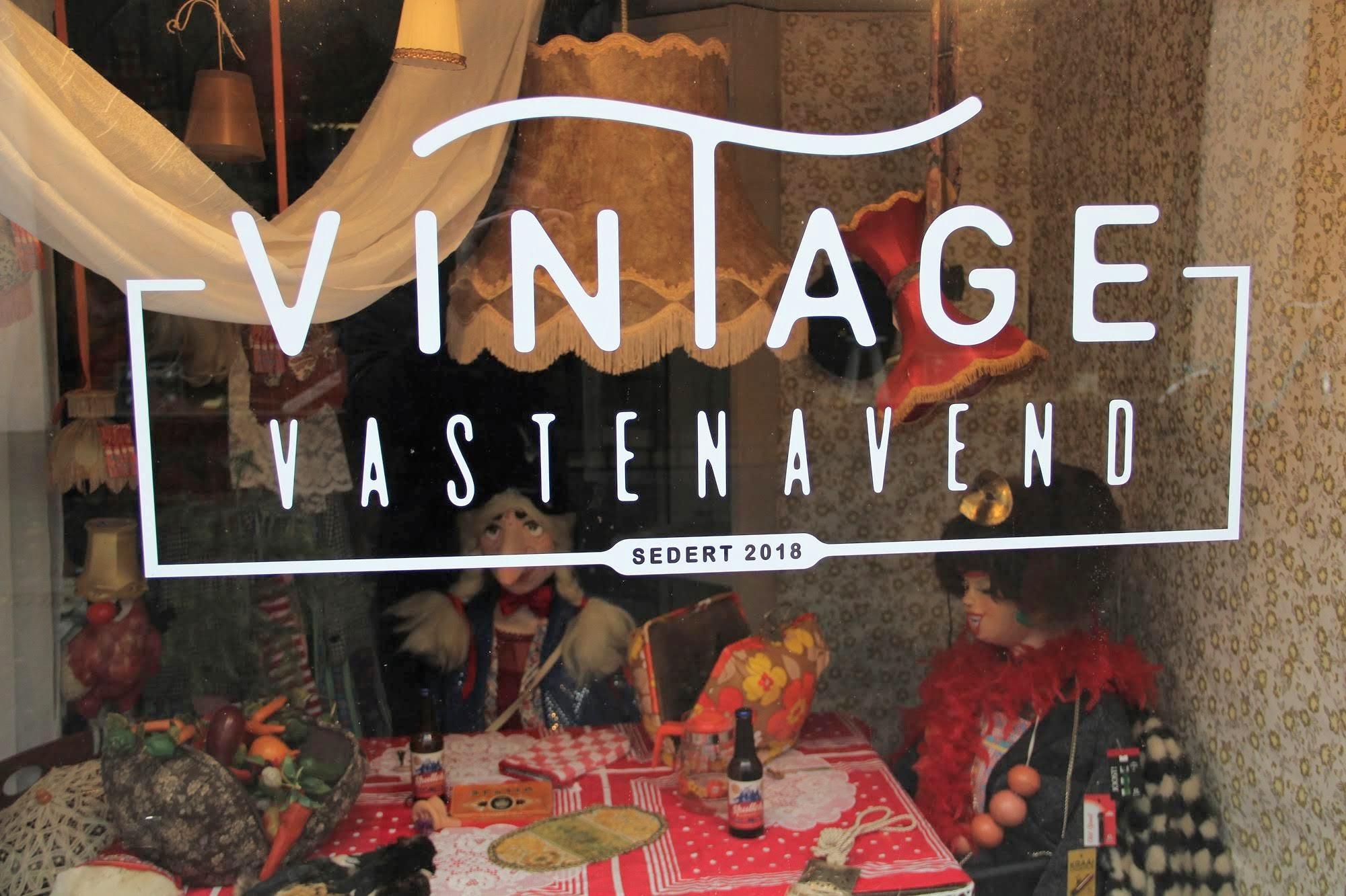 vintage vastenavend kleding winkel