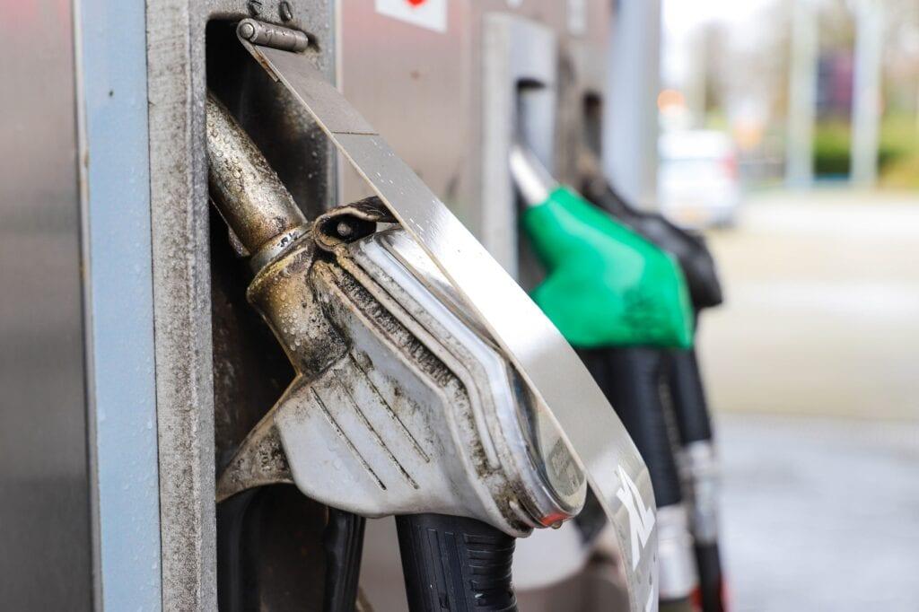 tankstation benzinestation pompstation benzine diesel auto tanken