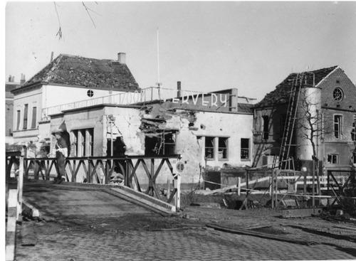 brug buitenvest kapot tweede wereldoorlog