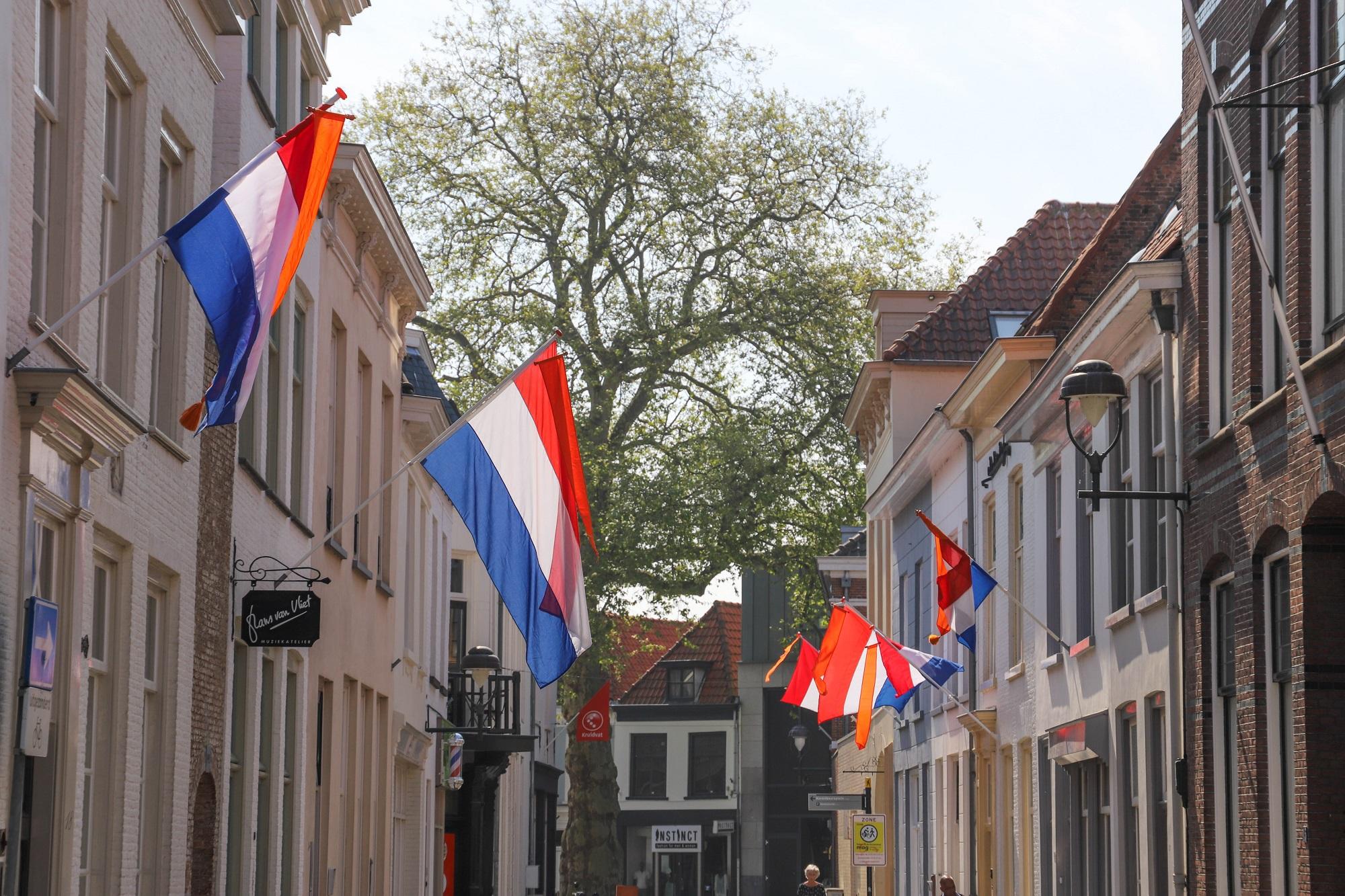 nederlandse vlag nederland woningsdag 2020 koningsdag 2020 bergen op zoom